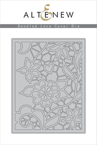 Doodled Lace Cover Die