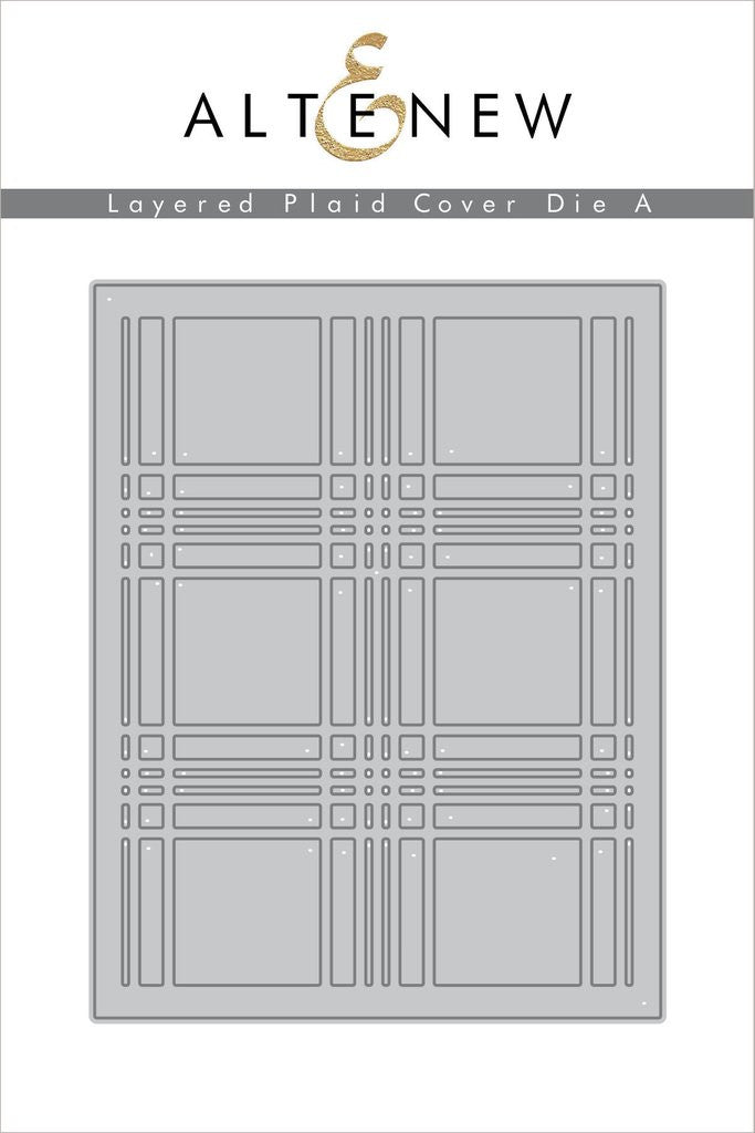 Layered Plaid Cover Die A