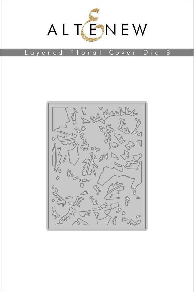 Layered Floral Cover Die B