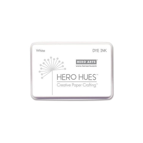 Dye Ink Pad - White