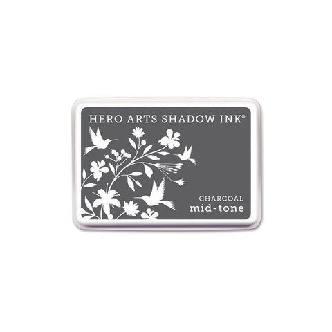 Charcoal Mid0tone Shadow Ink