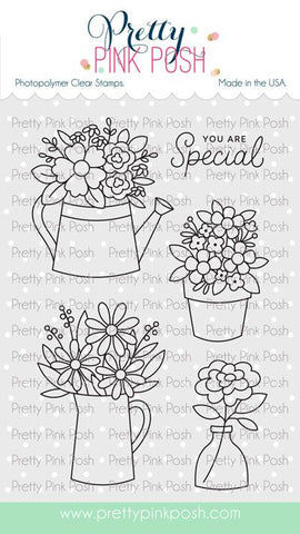 Flower Bouquets Stamp Set