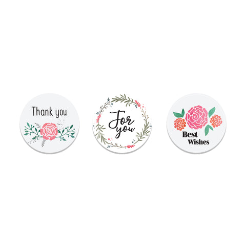 Delicate Blooms Stickers