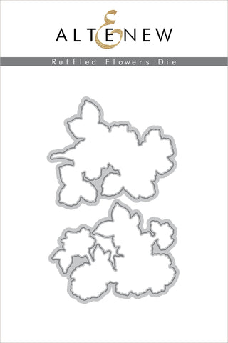 Ruffled Flowers Die Set