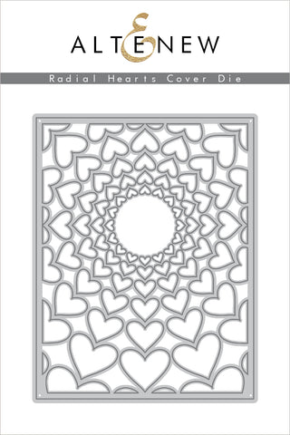 Radial Hearts Cover Die