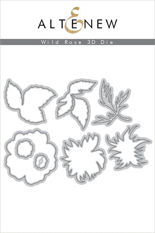 Wild Rose 3D Die Set