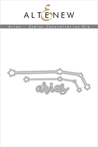 Aries Zodiac Constellation Die Set