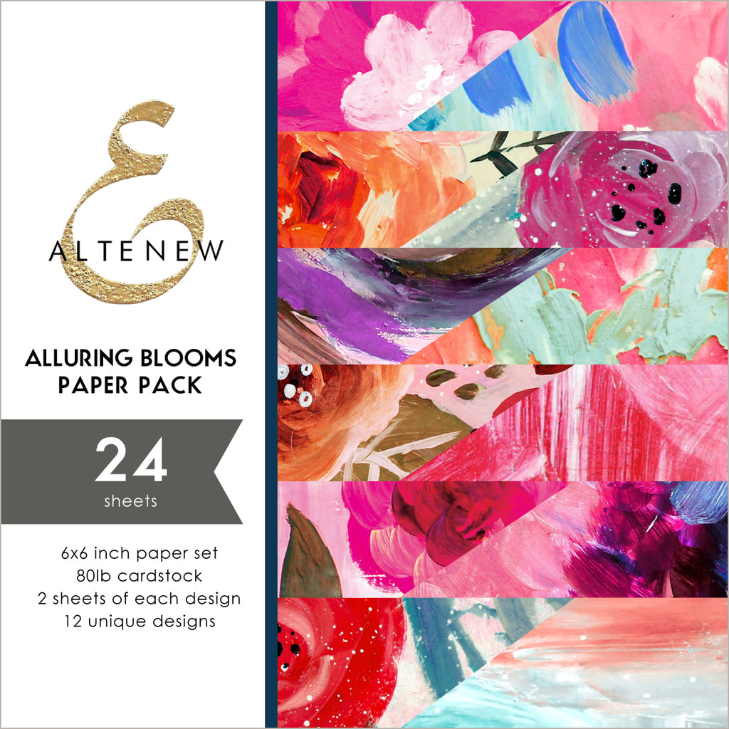 Alluring Blooms 6x6 Paper Pack