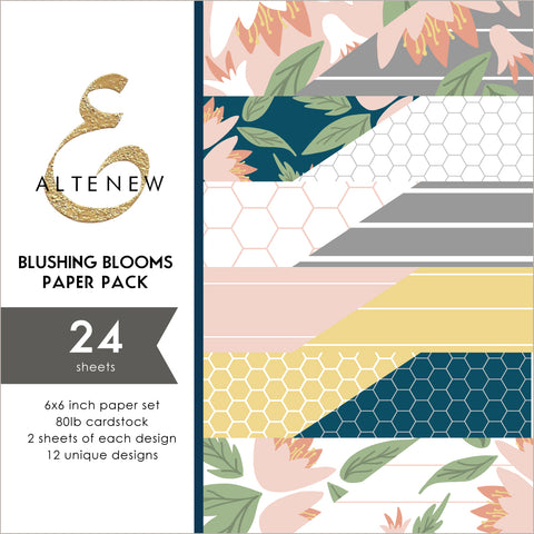 Blushing Blooms 6x6 Paper Pack