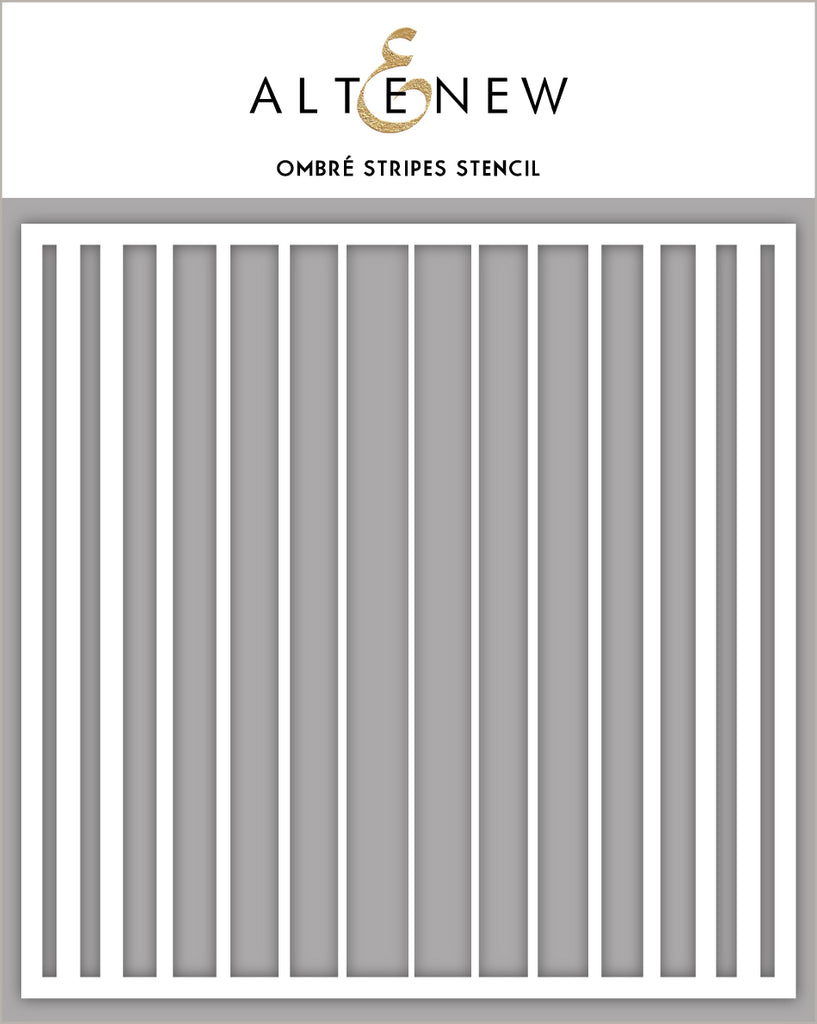 Ombre Stripes Stencil