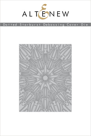 Dotted Starburst Debossing Cover Die