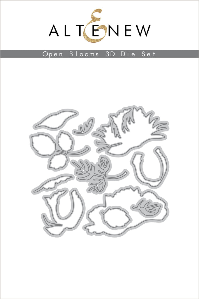 Open Blooms 3D Die Set