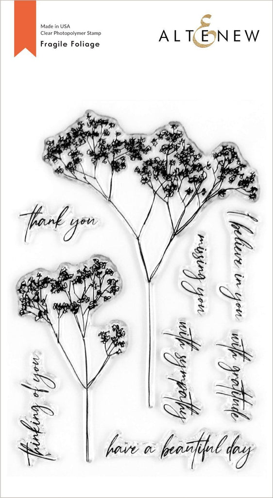 Fragile Foliage Stamp Set