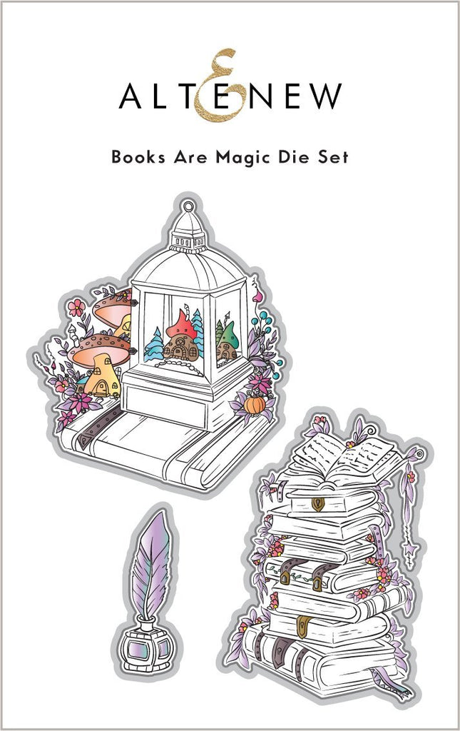Books Are Magic Die Set
