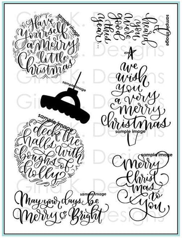 Clear Stamps A Very Merry Christmas Stamp Set