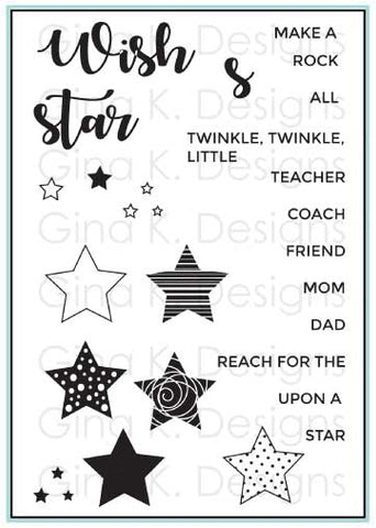 Clear Mini Stamps All Star
