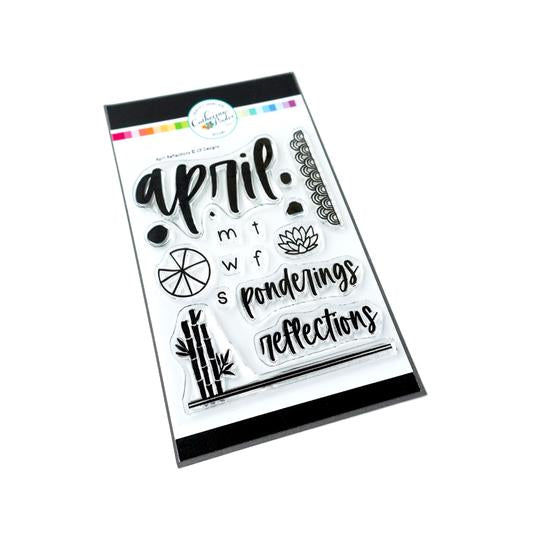 April Reflections Stamp Set