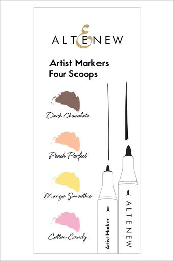 Artist Markers Four Scoops Set