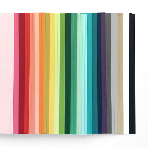 Assorted Color Cardstock Pack