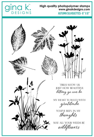 Clear Stamps - Autumn Silhouettes