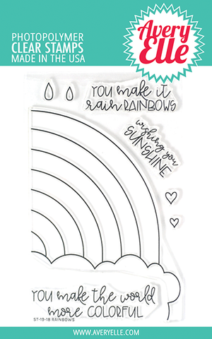 Rainbow Clear Stamps