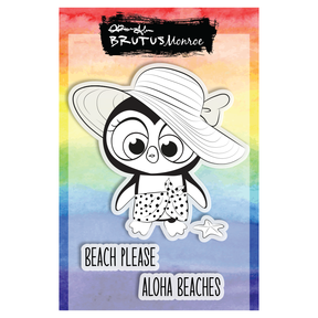 Beached Penguin Stamp Set