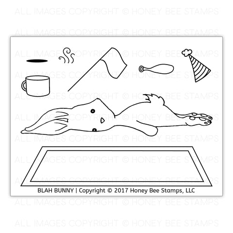 Blah Bunny Stamp Set