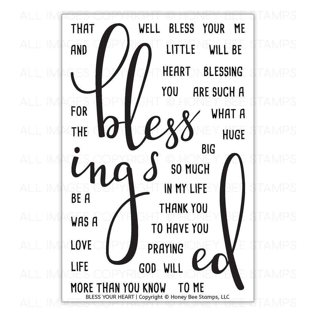 Bless Your Heart Stamp Set