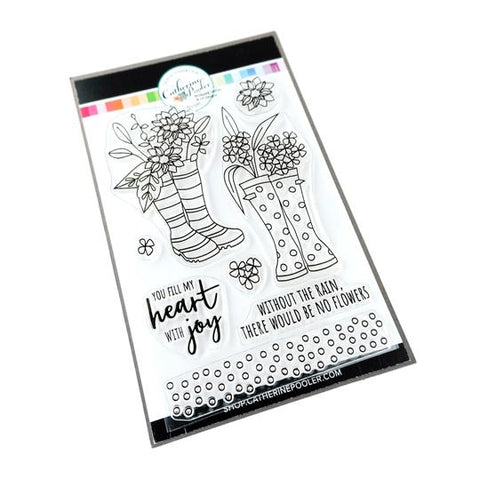 Bloomin' Wellies Stamp Set