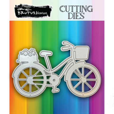 Metal Die - Blooming Bicycle