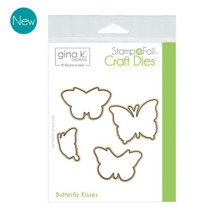 GKD Stamp & Foil Butterfly Kisses Die Set
