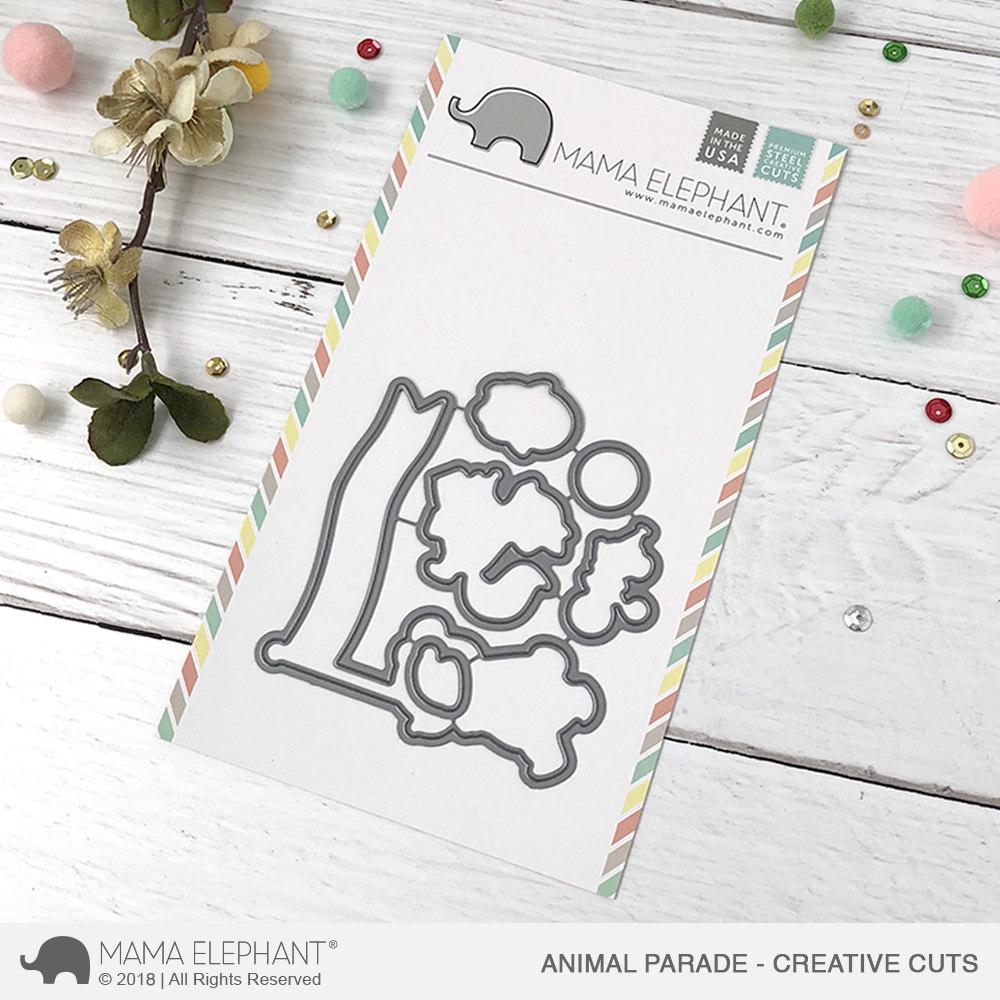 Animal Parade Creative Cuts