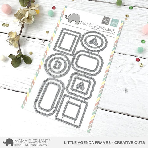 Little Agenda Frames - Creative Cuts