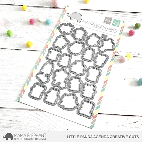 Little Panda Agenda Creative Cuts