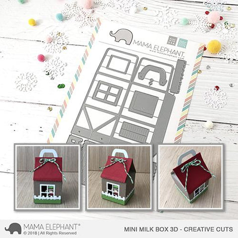 Mini Milk Box 3D - Creative Cuts