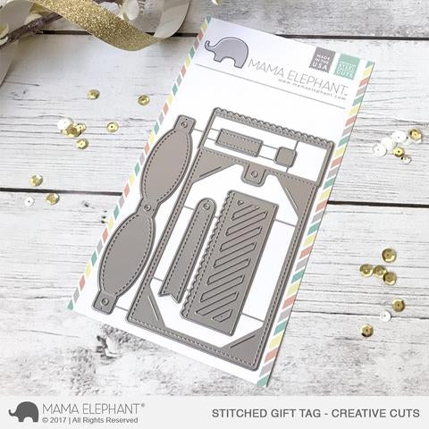 Stitched Gift Tag-Creative Cuts