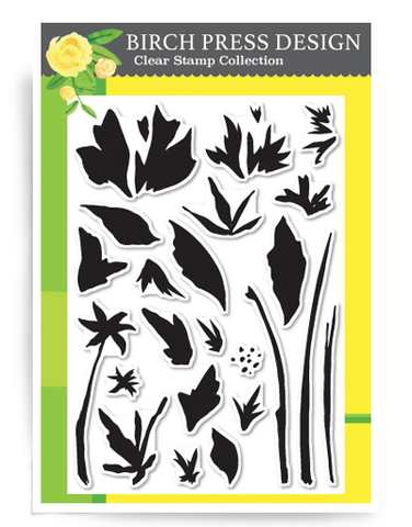 Watercolor Wildflowers Clear Stamp Set