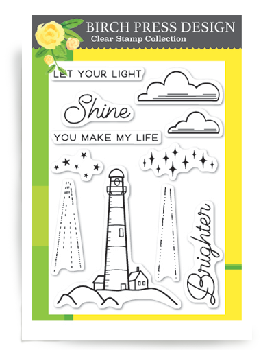 Let Your Light Shine Clear Stamp Set