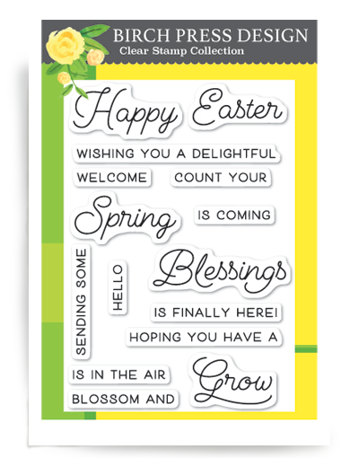 Spring Blessings Clear Stamp Set