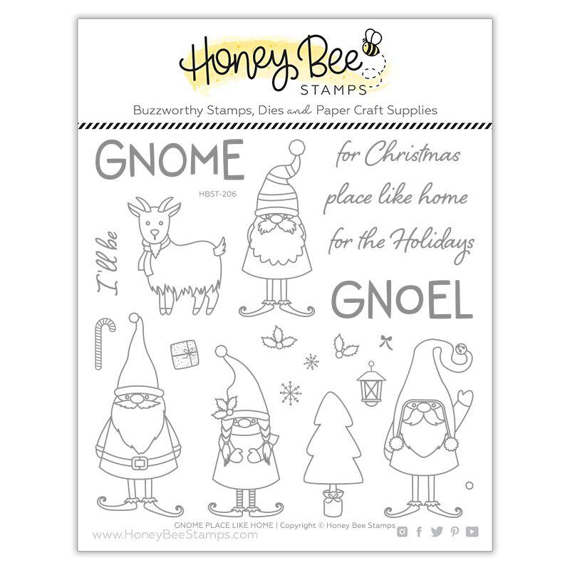 Gnome Place Like Home Stamp Set