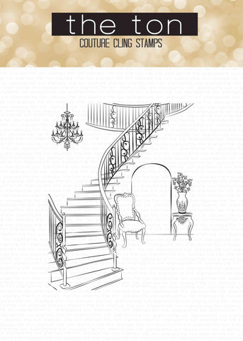 Scenes: Grand Stairway Cling Background