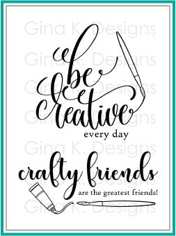 Clear mini stamps Crafty & Creative