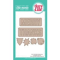 Die: Holiday Fill In The Blank Elle-ments