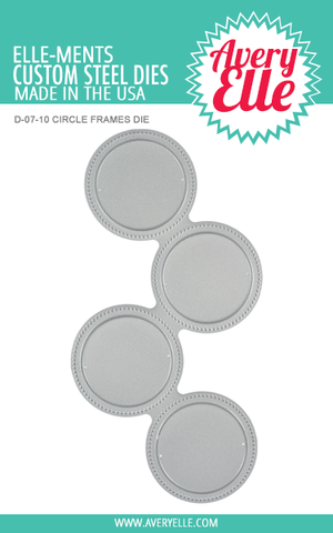 Die: Circle Frames Elle-ments
