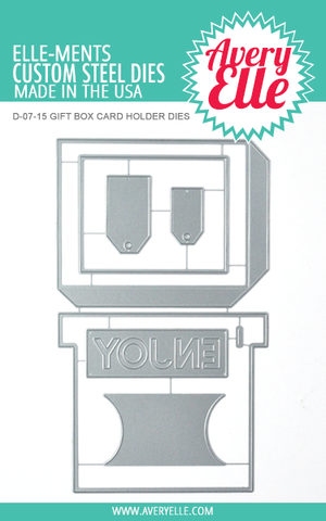 Die: Gift Box Card Holder Elle-ments