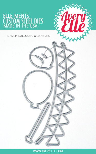 Die: Balloons & Banners Elle-ments