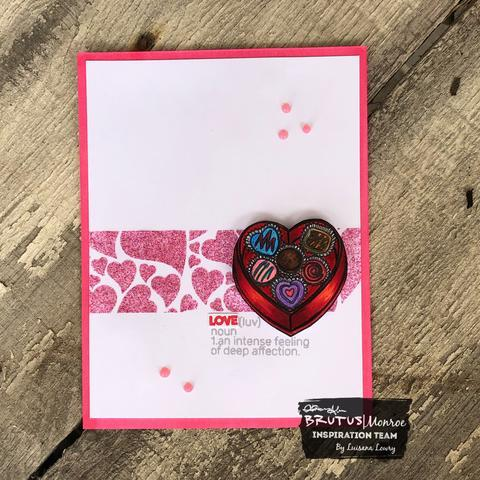 Box of Chocolates - 2x3 Stamp