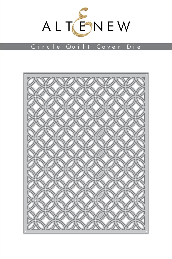 Circle Quilt Cover Die