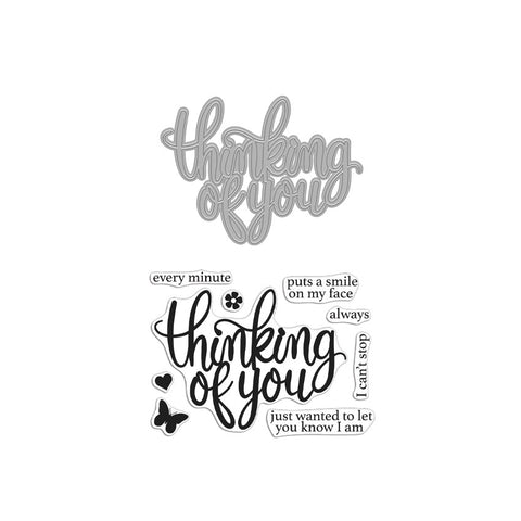 Thinking of You Stamp & Cut