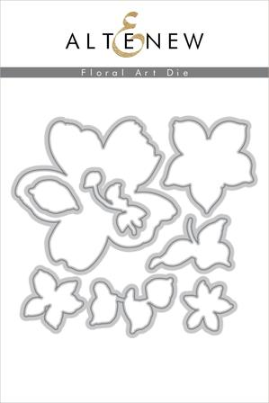 Floral Art Die Set